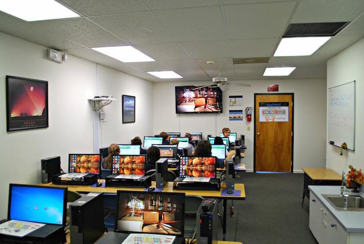 Brevard Charter School Computer Lab