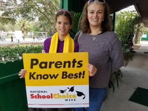 January 22nd to 26th is National School Choice Week.  Join us in celebrating choices for education.  We welcome new and exciting families to come to visit during our open house 9-11 daily.  Each day we will be giving tours of the school at 10:00.  We will