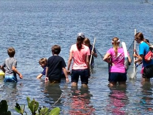 Charter School Students participate in Indian River Lagoon Quest