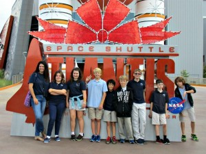 Educational Horizons Students Visit the Kennedy Space Center