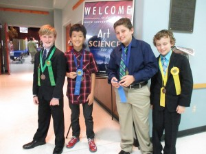 Brevard Students Compete for Southern District Science Fair