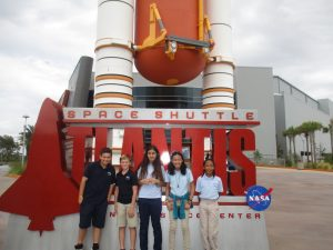 Brevard Charter School Students Visit Kennedy Space Center